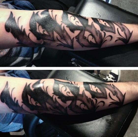 70 Zahl Tattoos für Männer - Numerische Tintendesign-Ideen
