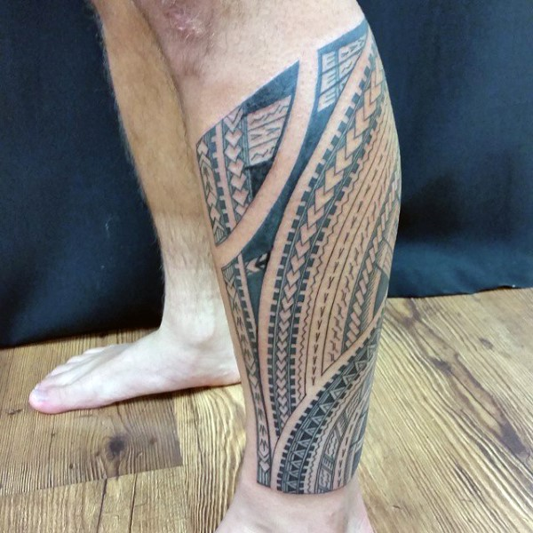 90 Samoanische Tattoo Designs für Männer - Tribal Ink Ideen