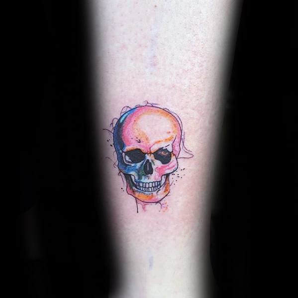 60 Viertel Größe Tattoos für Männer - Mini Design-Ideen