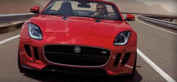 Der neue 2013 Jaguar F-Typ und F-Typ S Sportwagen