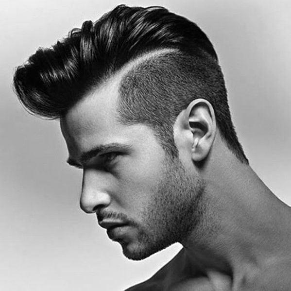 68 Amazing Side Part Frisuren für Männer