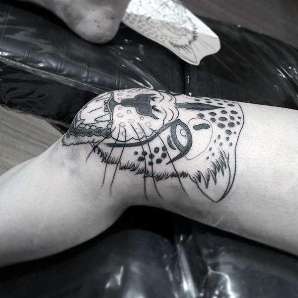 60 Leopard Tattoos Fur Manner Designs Mit Starke Und Kraft Mann