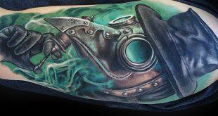 60 Pest Arzt Tattoo Designs für Männer - Manly Ink Ideen