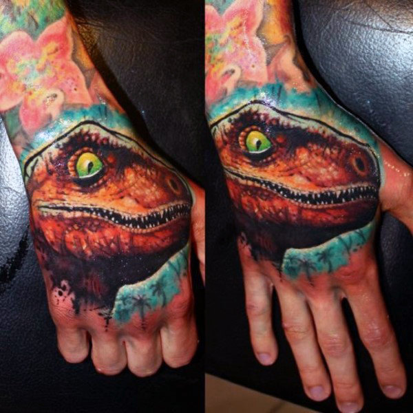 90 Dinosaurier Tattoo Designs für Männer - Prehistoric Ink Ideen