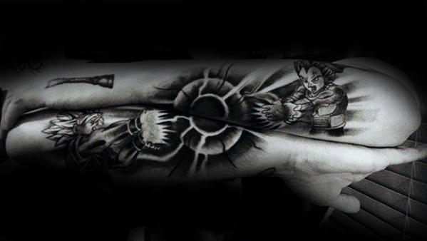 40 Vegeta Tattoo-Designs für Männer - Dragon Ball Z-Tinte Ideen