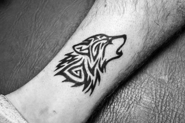 50 Tier Tribal Tattoos für Männer - Maskuline Design-Ideen