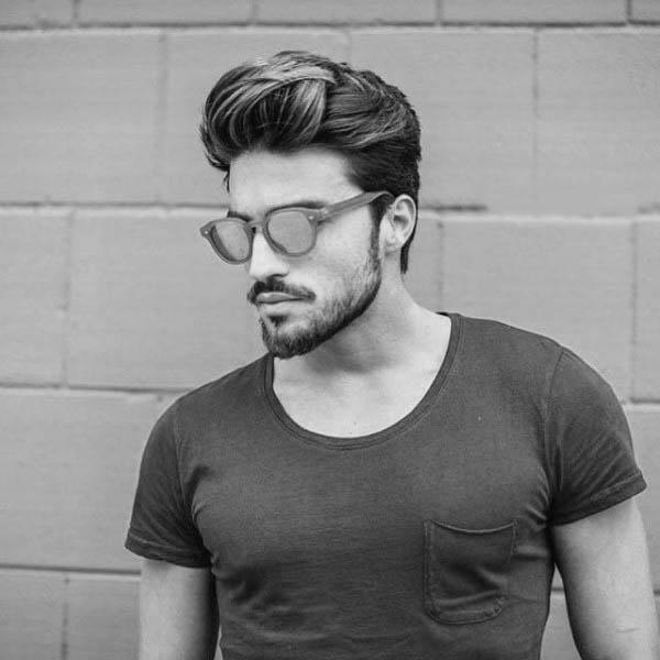 75 Manner Mittleren Frisuren Fur Dickes Haar Manly Cut Ideen