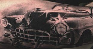 70 Auto Tattoos für Männer - Coole Automotive Design-Ideen