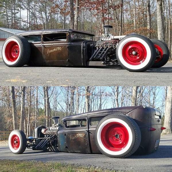 Top 70 besten Badass Rat Rod Ideen - coolsten Custom Cars