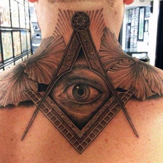 Top 40 Besten Hals Tattoos Fur Manner Klein Bis Stark Eingefarbt