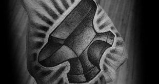 60 Amboss Tattoo Designs für Männer - Eisen Block Tinte Ideen