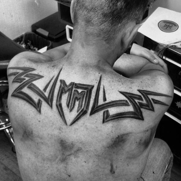 60 3D Tribal Tattoos für Männer - Maskuline Design-Ideen