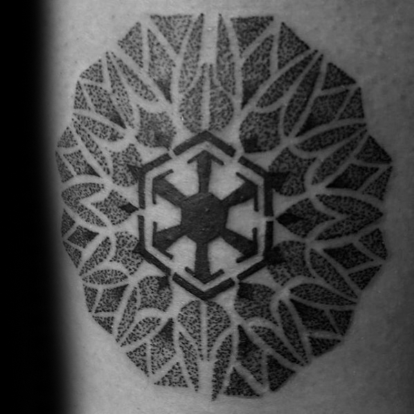 20 Sith Symbol Tattoo Designs für Männer - Star Wars Tinte Ideen