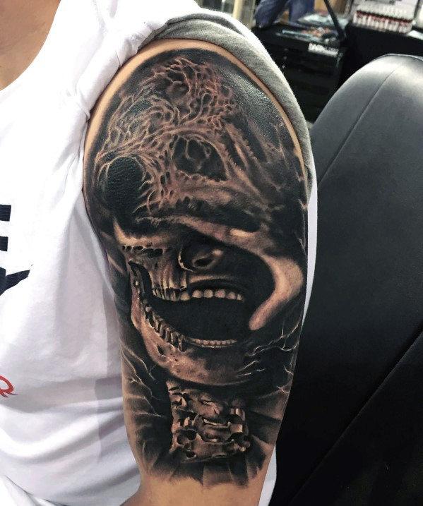 Top 50 besten Arm Tattoos für Männer - ein Schlag der Inspiration und Ideen
