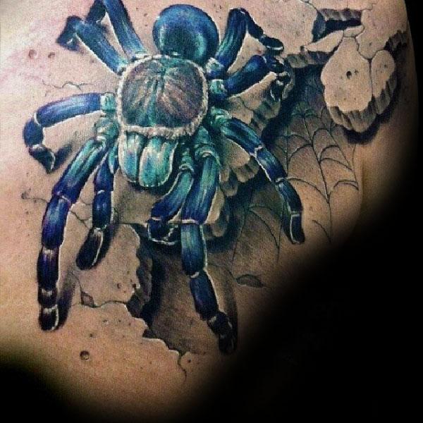 70 Tarantula Tattoo Designs für Männer - Spider Ink Ideen