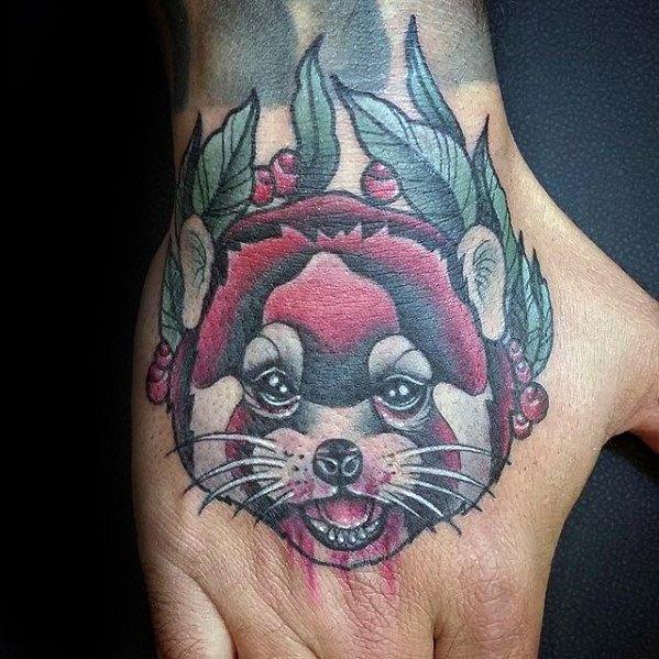 60 Red Panda Tattoo Designs für Männer - Animal Ink Ideen