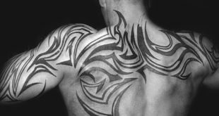 60 Tribal Back Tattoos für Männer - Bold Maskuline Designs