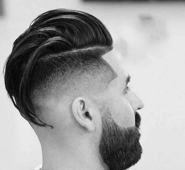 40 lange unterschnittene Haarschnitte für Männer - lange männliche Frisuren