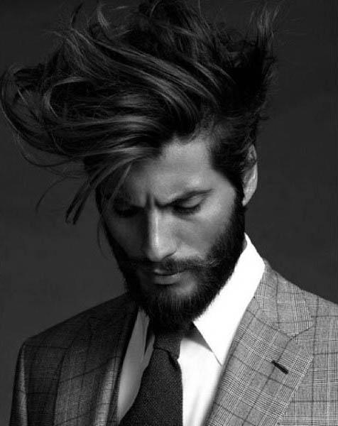 60 mittlere lange Männer Frisuren - männliche lange Schnitte