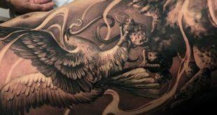 50 Mexikanische Adler Tattoo Designs für Männer - Manly Ink Ideen