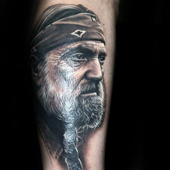 Portrait Ideen.70 Portrait Tattoos Für Männer Realistische Design Ideen