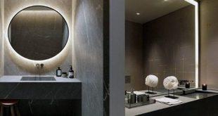 Top 50 besten Badezimmer Spiegel Ideen - reflektierende Innenarchitektur