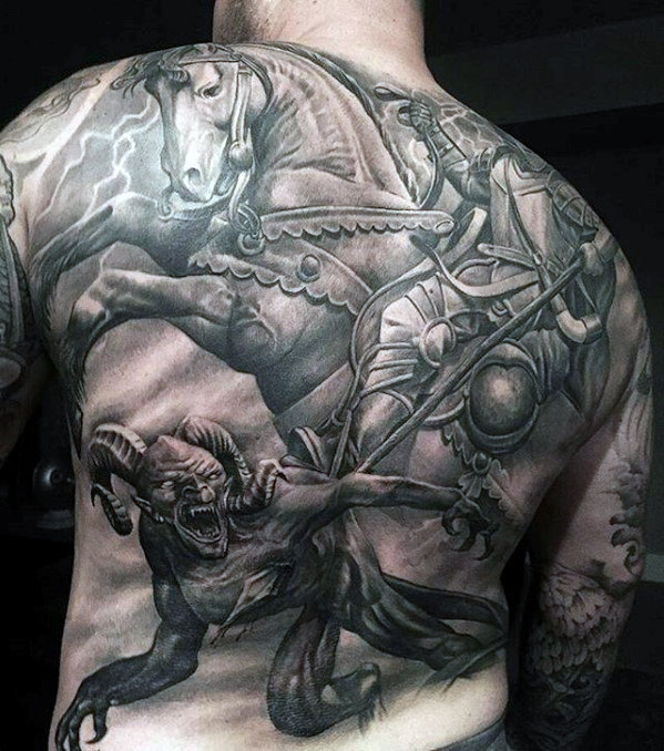 50 unglaubliche Tattoos für Männer - Undenkbare Tinte Design-Ideen