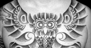 50 Tribal Owl Tattoo-Designs für Männer - Maskulin Ink Ideen