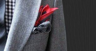 Wie man ein Einstecktuch faltet und trägt - ein wesentlicher charismatischer Bestandteil zu irgendeinem Anzug