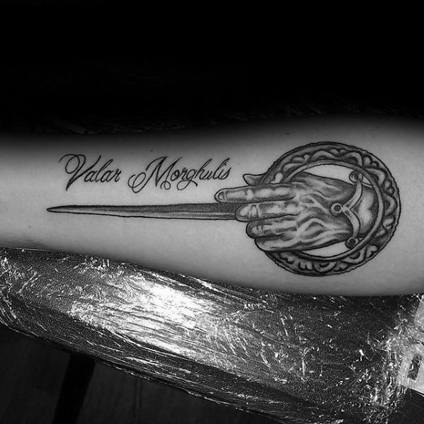 80 Game Of Thrones Tattoo Designs für Männer - Westeros Ink Ideen