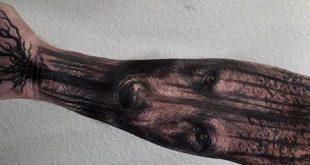 60 Baumwurzeln Tattoo Designs für Männer - Manly Ink Ideen