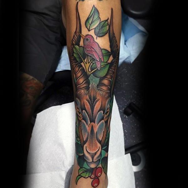 80 Shin Tattoos für Männer - Masculine Lower Leg Design-Ideen
