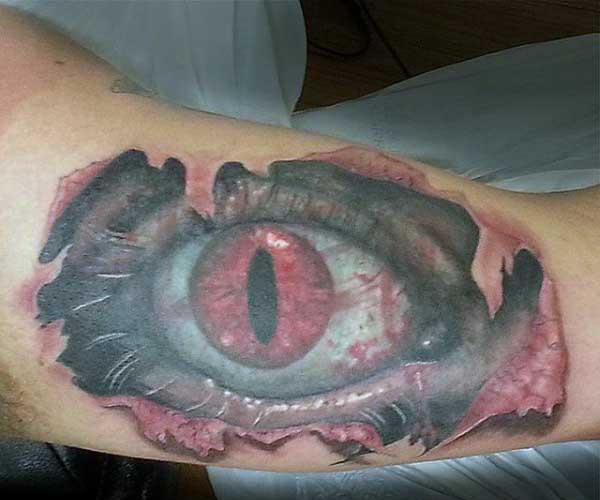 50 Ripped Skin Tattoo Designs für Männer - Maskulin Zerrissene Fleisch-Tinte