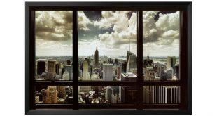 New York City Fenster Kunst