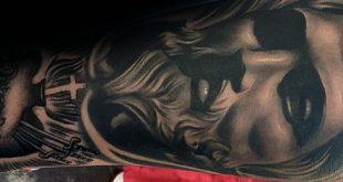 50 Jesus Unterarm Tattoo-Designs für Männer - Christus Tinte Ideen