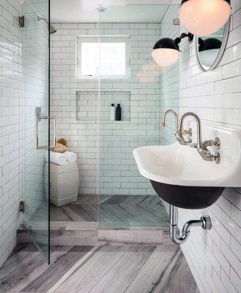 Ideen Feuchtraumboden Für Badezimmer Bodenbelag Abdichten Stil: Top 50 Besten Dusche Fliesen Ideen