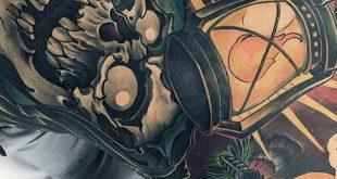 90 moderne Tattoos für Männer - Designideen des 21. Jahrhunderts