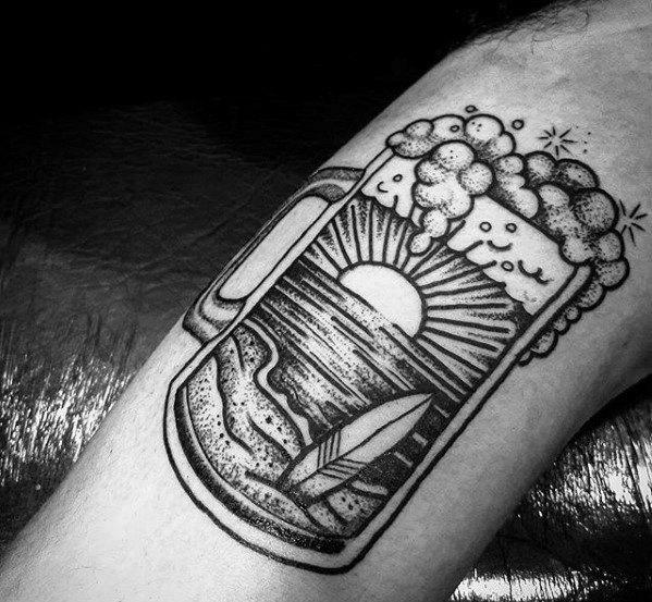 Bier Tattoo