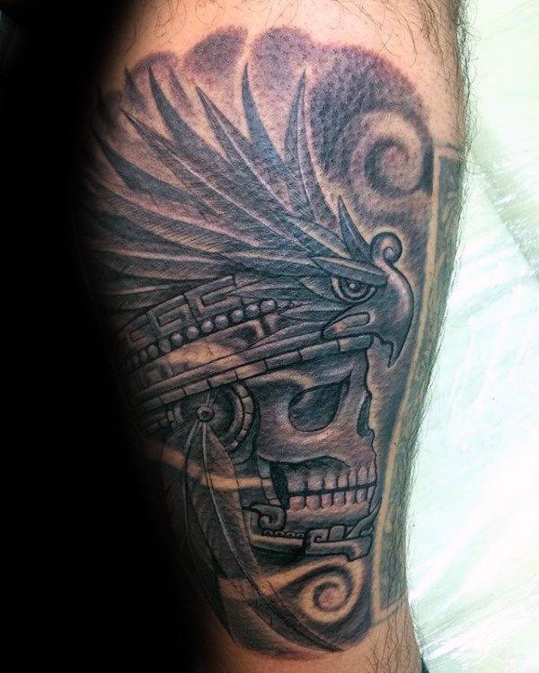 80 Maya Tattoos für Männer - Maskulin Design-Ideen
