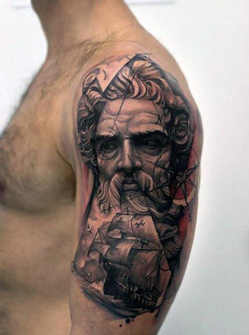 70 Viertel Sleeve Tattoo Designs für Männer - Masculine Ink Ideen