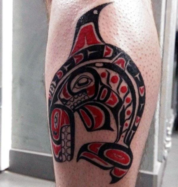 60 Orca Tattoo Designs für Männer - Killerwal-Tinten-Ideen