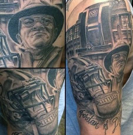 20 Green Bay Packers Tattoos für Männer - NFL-Tinten-Ideen