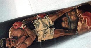 50 Muhammad Ali Tattoo Designs für Männer - Boxing Champion Ink Ideen