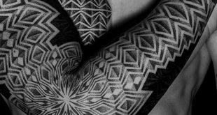 50 geometrische Tattoo Ärmel Designs für Männer - komplexe Tinte Ideen