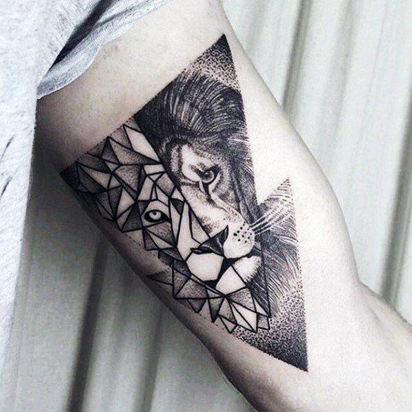 Unterarm Tattoo Mann Löwe 1001 Oberarm Und Unterarm Tattoo