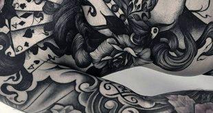 80 kranke Tattoos für Männer - Masculine Ink Design-Ideen