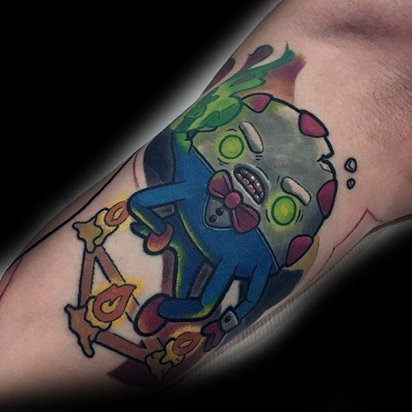 60 Adventure Time Tattoo Designs für Männer - Animated Ink Ideen