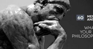 60 Männer beantworten eine Frage - Was ist die Philosophie deines Lebens?