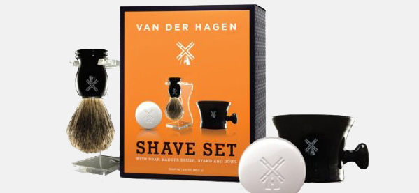 Van Der Hagen Herren Luxus Rasur Set