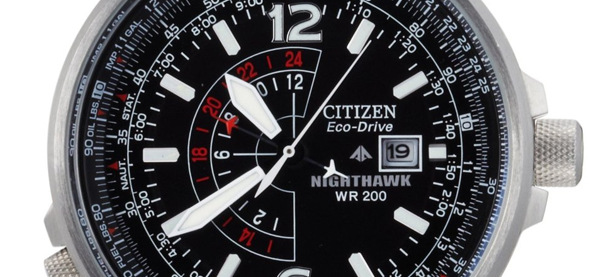 Citizen Eco-Drive Nighthawk Uhr